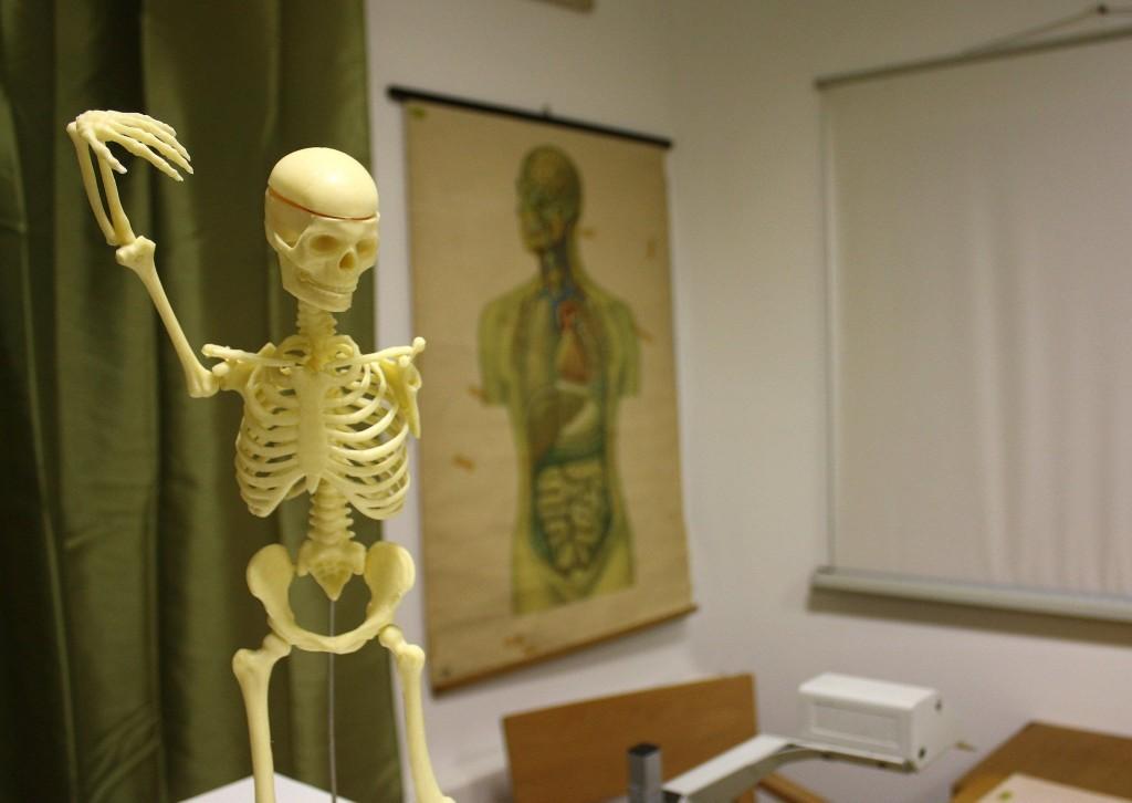 The Classroom of Doomescape room in Slovenia
