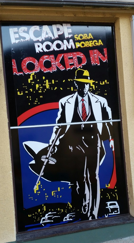 Locked inescape room in Slovenia