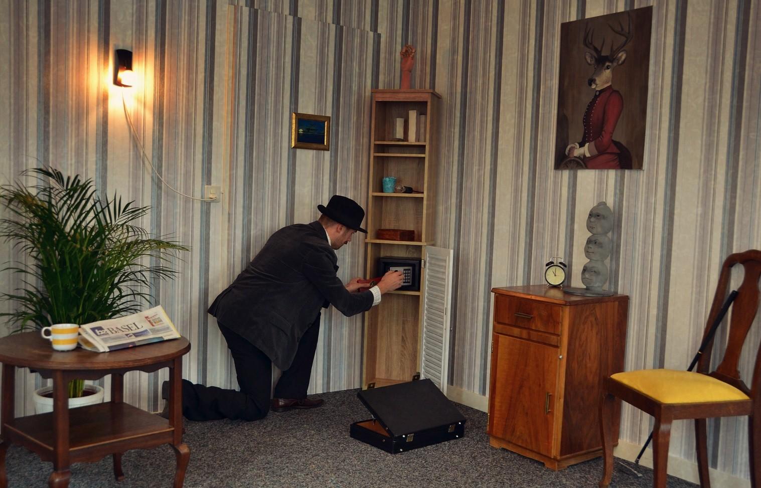 One hour escape master thief escape room in basel for Escape room escape