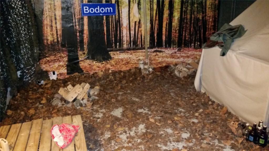 The murder of Lake Bodomescape room in Finland