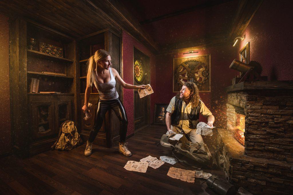 Da Vinci Codeescape room in Switzerland