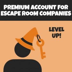 Premium account for Escape Room companies – 1 year