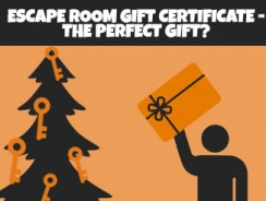 Escape room gift certificate – the perfect gift?