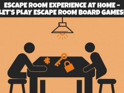 Escape room experience at home – let's play escape room board games!