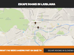 A new addition to our site – maps of Escape Rooms in cities!
