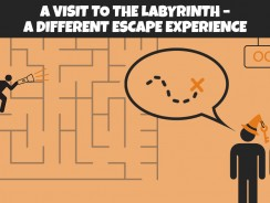 A visit to the labyrinth – a different escape experience