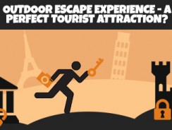 Outdoor escape experience – a perfect tourist attraction?