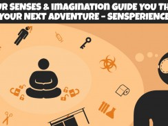 Let your senses & imagination guide you through your next adventure – Sensperience, a new, fun activity